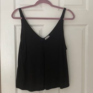 free people black tank size small